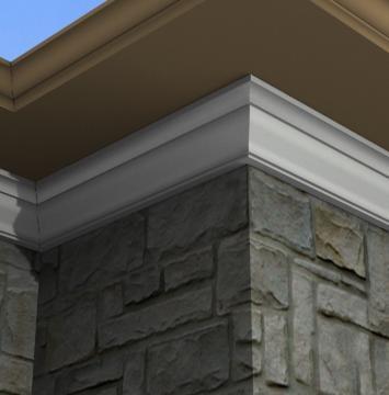 1000 images about exterior foam crown moulding on - Exterior decorative foam molding ...