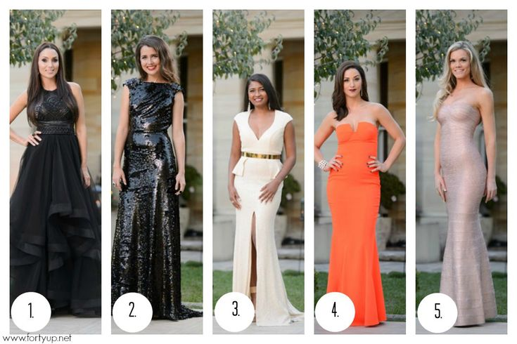 The top 5 best dressed the Bachelor Australia 2015 with Forty Up