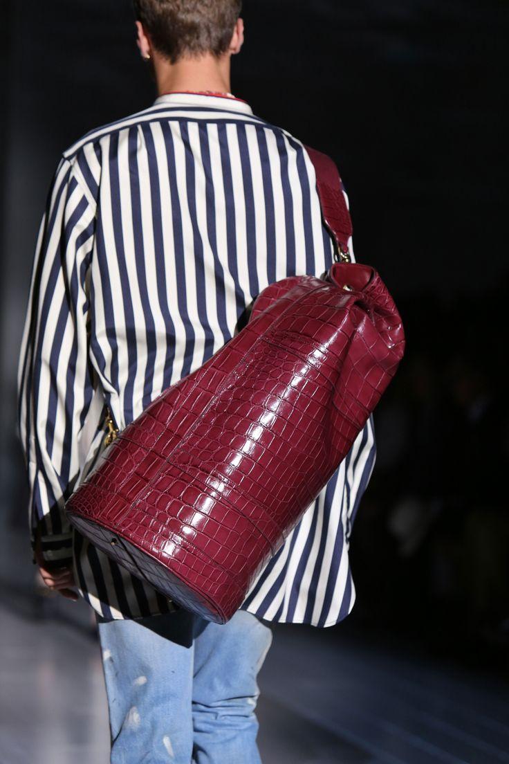 gucci bags for men 2016. gucci men\u0027s spring/summer 2015 runway show bags for men 2016