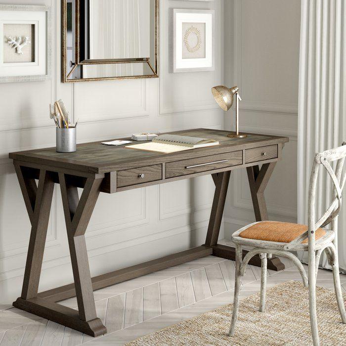 Rourke Desk Cheap Office Furniture Solid Wood Writing Desk Furniture