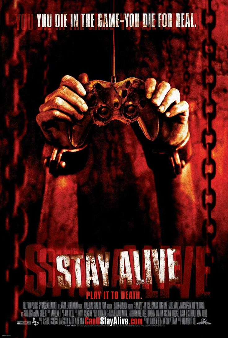 If you're in the mood for a movie that combines legitimate PG13 spookiness with hilariously nonsensical acting and writing choices, Stay Alive is for you.