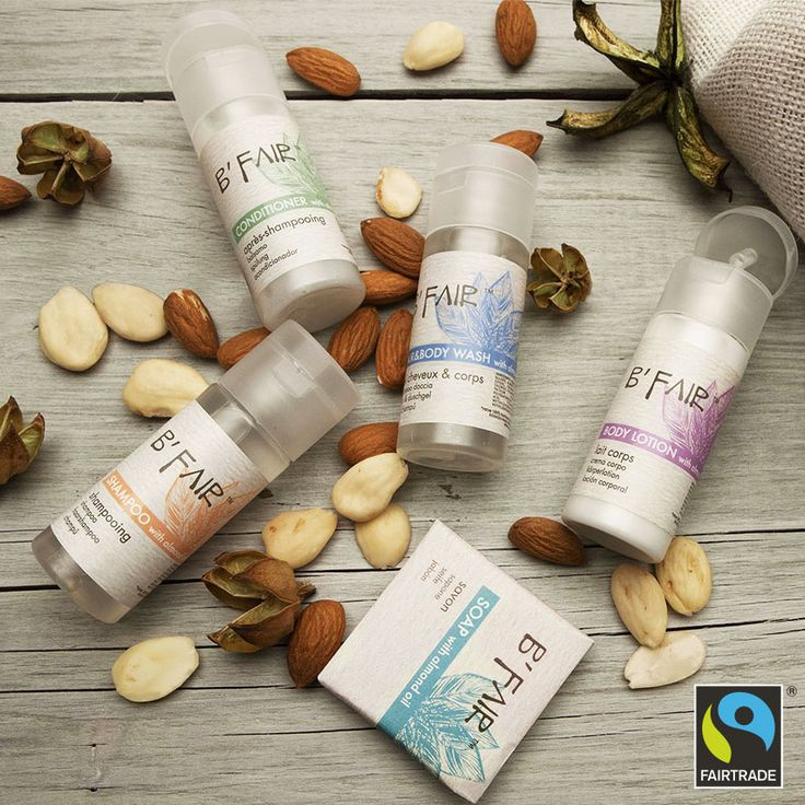 We are happy to announce our new B'Fair! The #ethicalbodycare made from 100% Fairtrade® certified almonds from Pakistan. The collection is heavenly scented with the fresh sensuality of orange wood and enriched with almond oil extracts. It's the collection that both hotels and guests will feel all the better for!  http://www.allegriniamenities.com/en/b-fair.aspx