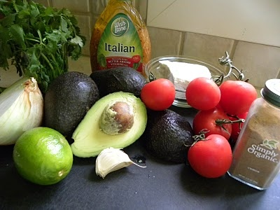 GREEK GUACAMOLE!: Food Recipes