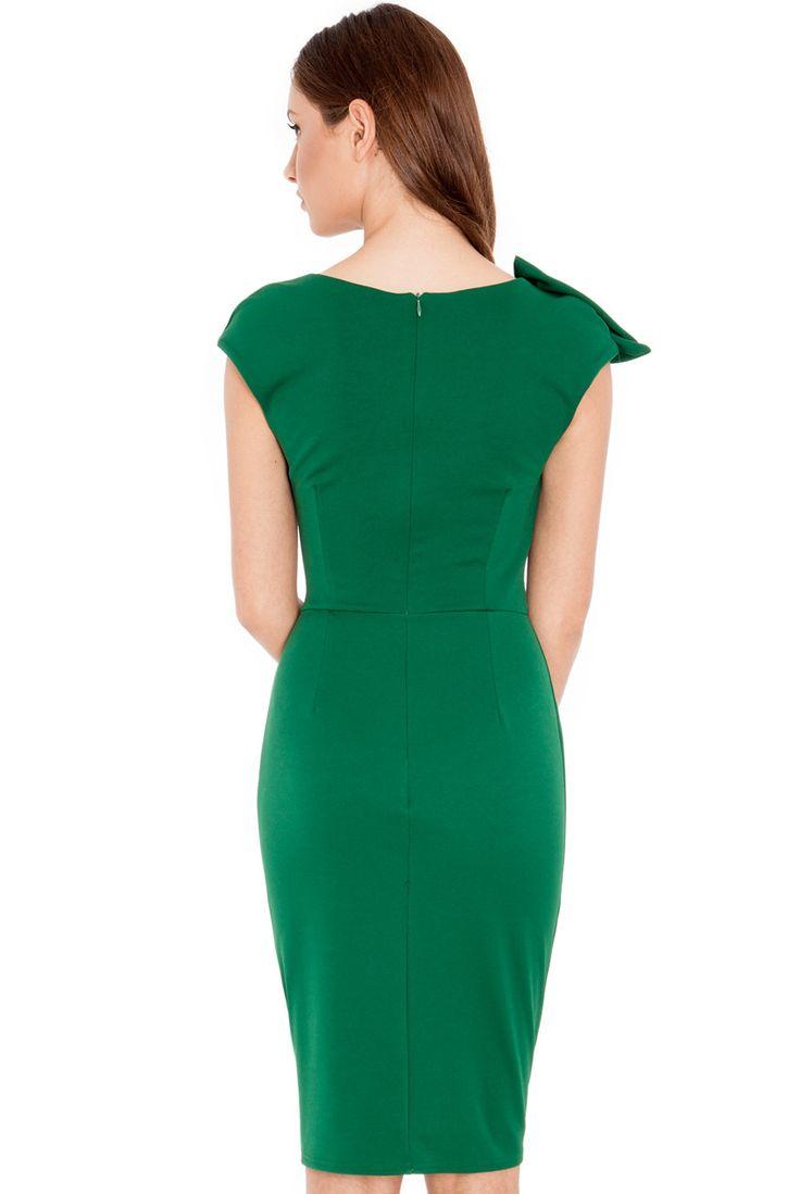 Rochie Angelina Plus Verde