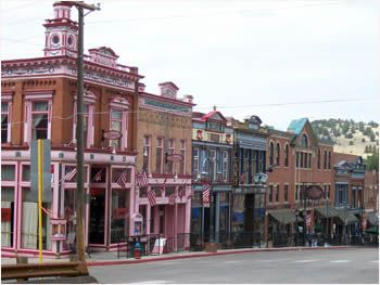 Cripple Creek Colorado...Historic gambling town...was in the gold rush days set to be the Capital over Denver...