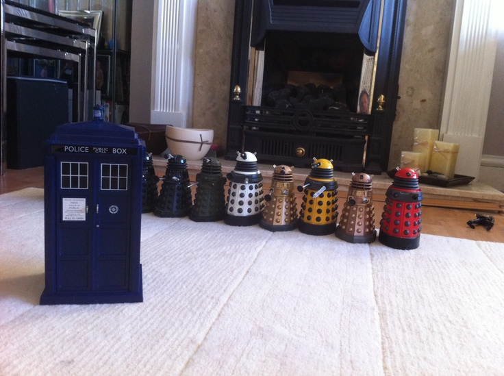 Watch out Dr the Daleks are coming !!