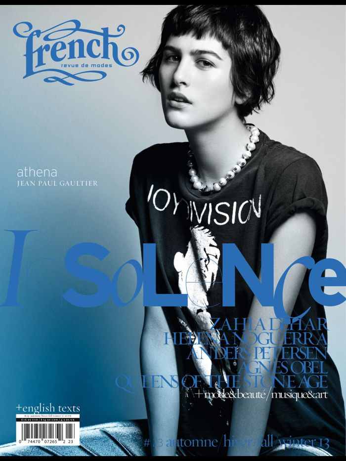 Athena Wilson in Jean Paul Gaultier