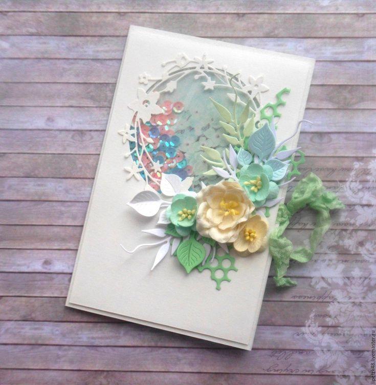 Бумага для открытки ручной работы