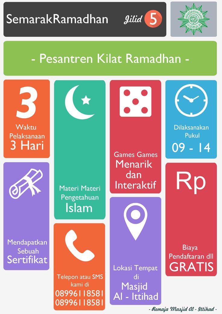 Poster Semarak Ramadhan - Pesantren Ramadhan