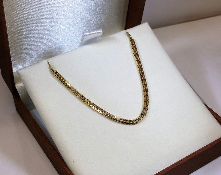 Vintage Halsschmuck - Kette Gold 333 FBM Halskette Venezianer alt GK101 - ein Designerstück von Atelier-Regina bei DaWanda