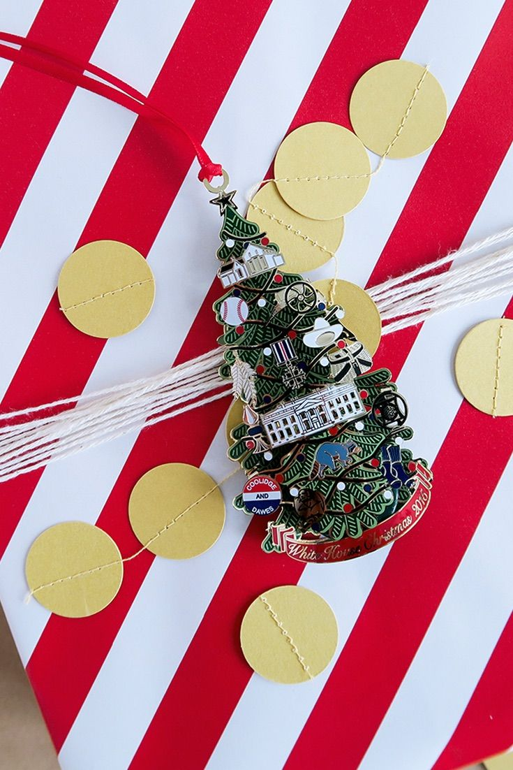 White house christmas ornaments by year - Looking For The Perfect Finishing Touch On Your Gifts This Season Try The Official White White House Christmas Ornamentchristmas