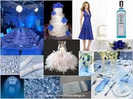 blue wedding - Google Search