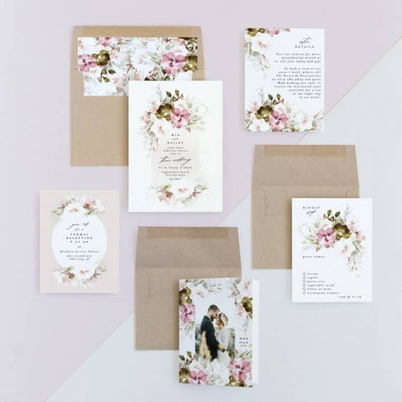 Where To Buy Acrylic Wedding Invitations Emmaline Bride Acrylic Wedding Invitations Acrylic Invitations Wedding Invitations