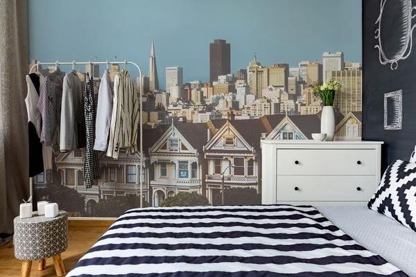 Choose San Francisco City View Wall Mural to create a fantastic wall decor in your room or browse thousands of other wall murals and custom wall murals only at Eazywallz.com