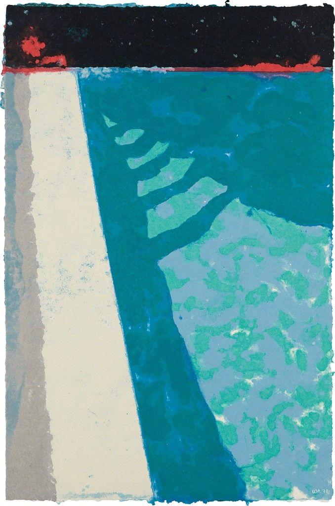 David Hockney: Paper Pools - handmade paper