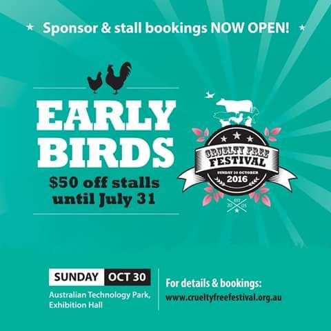 Sponsor and stall booking for CFF 2016 are now open! 🐥🐥🐥