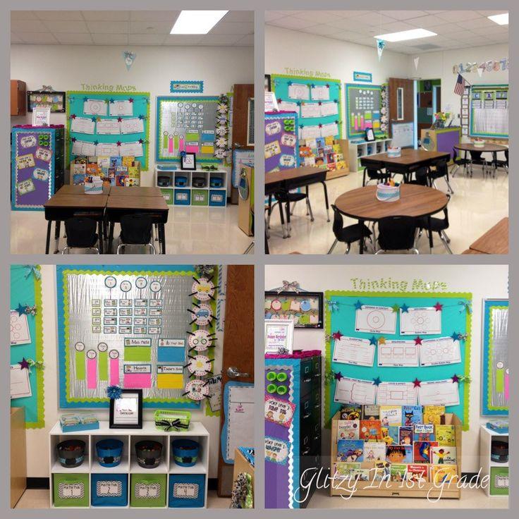 Classroom Design For Grade 7 : Mini star clothesline for bulletin board display rl