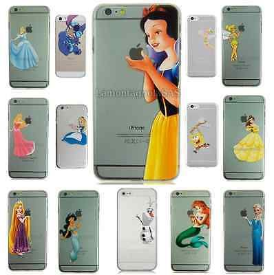 Blancanieves Ariel OLAF Belle Funda Rígida Funda Para Iphone 4 4s 5 5s 5c 6 6 Plus