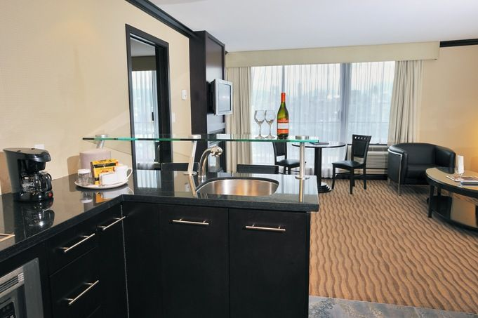 Kitchenette from the 1 Bedroom Suite
