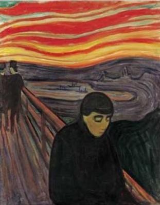 Despair by Edward Munch