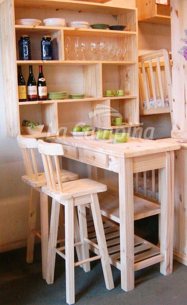 Cocina Desayunador Y Biblioteca Especial Muebles De Cocina