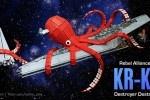 KR-KN: LEGO Kraken Attacks Star Destroyer