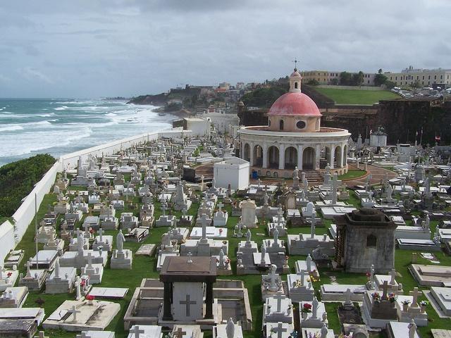 Cemetary in San Juan, PR