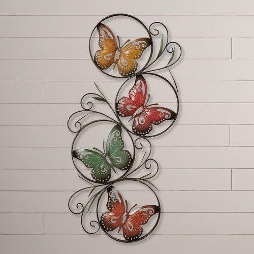 Found it at Wayfair - Ila Butterfly Wall Décor