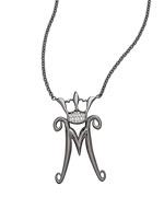 Wendy Brandes Silver Boleyn Initial Necklace: Jewelry Necklaces, Initial Necklaces, Initials Necklaces, Necklaces Pg