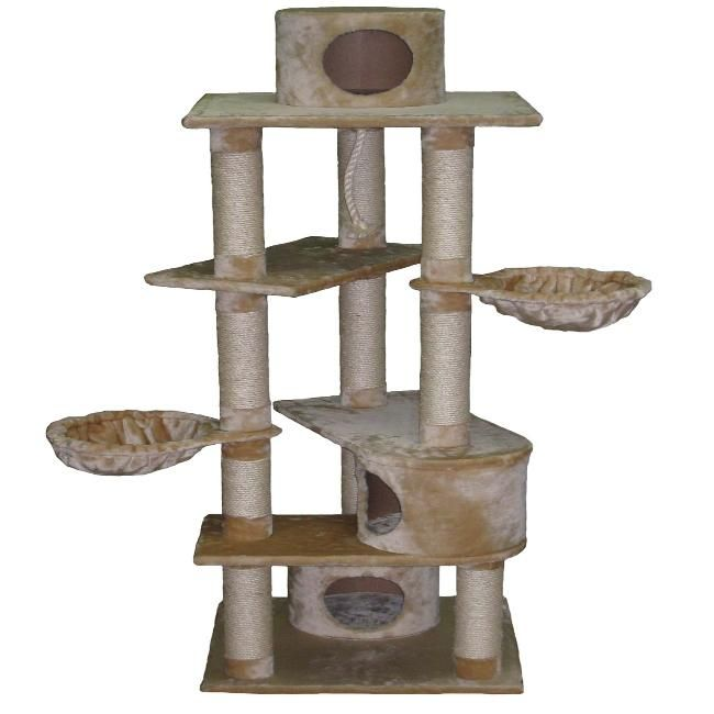Every cat loves a personal roosting place, and cat trees are the ultimate in pet homes. Description from overstock.com. I searched for this on bing.com/images
