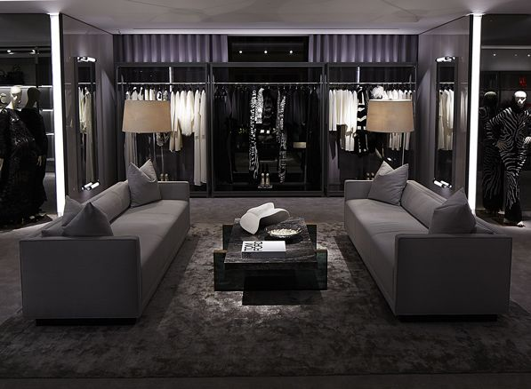 Dress your #showroom with #luxury carpeting for #TomFord #FashionStatement