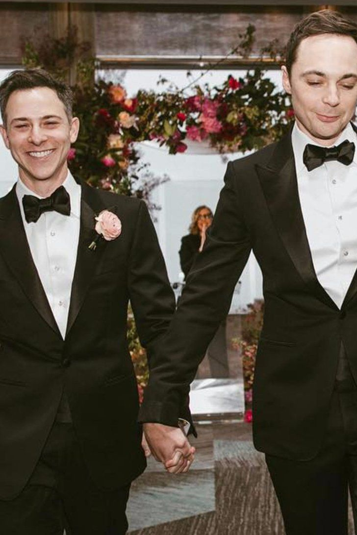 See the First Adorable Photo From Jim Parsons and Todd Spiewak's Wedding