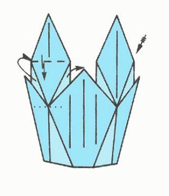 Schemi di origami - Natura (vaso)
