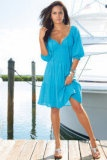 Bought this swim coverup in turquoise and white for our upcoming Maui trip :) Very cute and feminine.