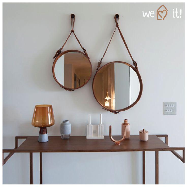 Confesso que quando vi esse espelho uns 2 anos atrás achei diferente, mas não achei lá tããão lindo assim, agora ando apaixonada e desejando MUITO um desses para colocar aqui no banheiro do escritório do blog! hahaha Se você é apaixonado pelo Pinterest como a gente, com certeza você já viu ambientes usando esse espelho …