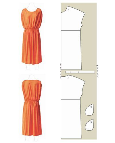 Luftige Kleider selber nähen: Schnitte und Anleitungen Really cute women's dress patterns- they are all in German, better prepare my translator-