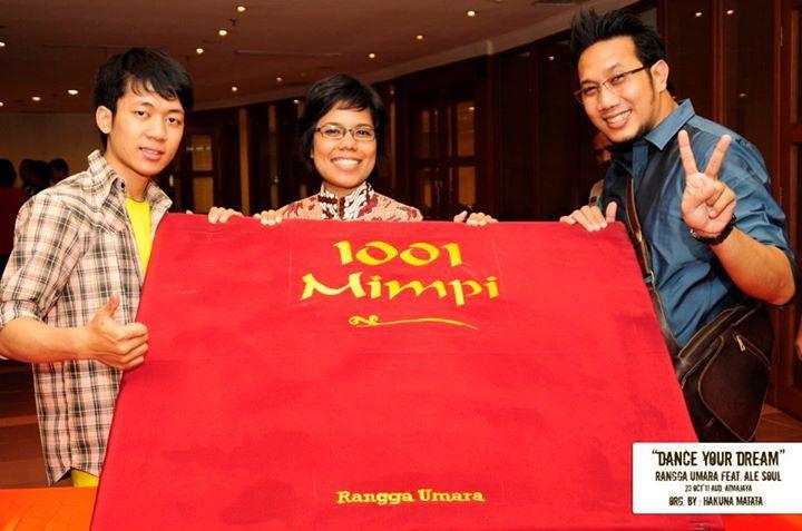 HAKUNA MATATA held an event with the theme about DREAM. www.hakunamatata.co.id