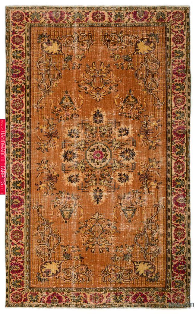 Turkish Vintage Rug 5 10 X 9 6 70 In X 114 In Vintage Area Rugs Vintage Rugs Area Rugs