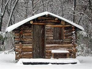 Simple Log Cabin Small Log Cabins, diy small cabin…