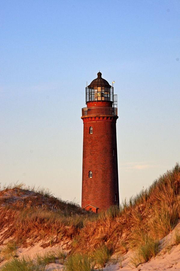 The Lighthouse at Darßer Ort by Andreas Reis, via 500px