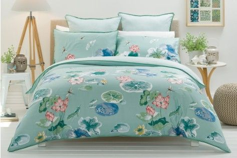TETSU by Morgan & Finch quilt cover. I've bought this quilt and pillow set from Bed Bath n' Table.