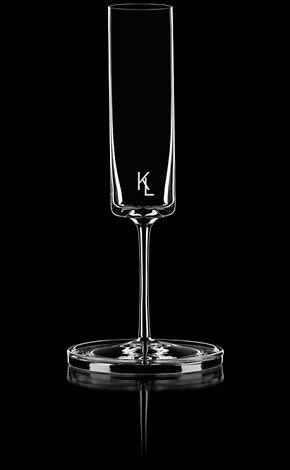 This is by Karl Lagerfeld for Orrefors which happens to be my family crystal...ya, my jaw dropped at the cost of one glass (€220).