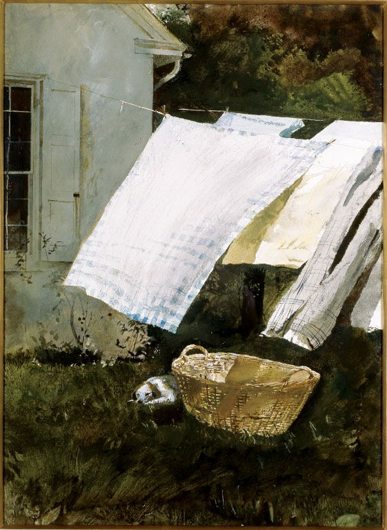 Light Wash by Andrew Wyeth | 1961, watercolor