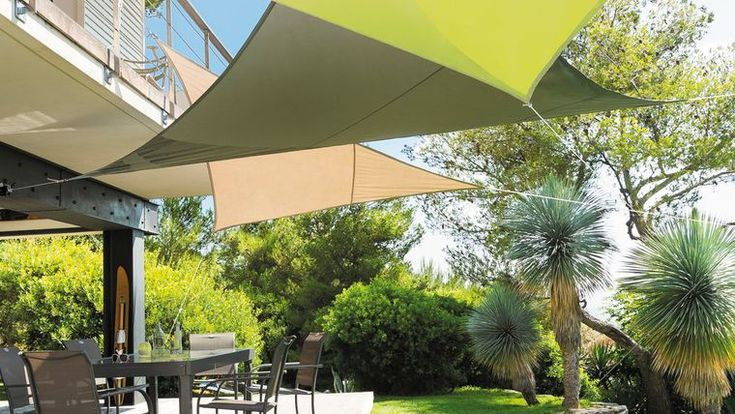 Les 25 meilleures id es concernant toile d ombrage sur - Toile d ombrage terrasse ...