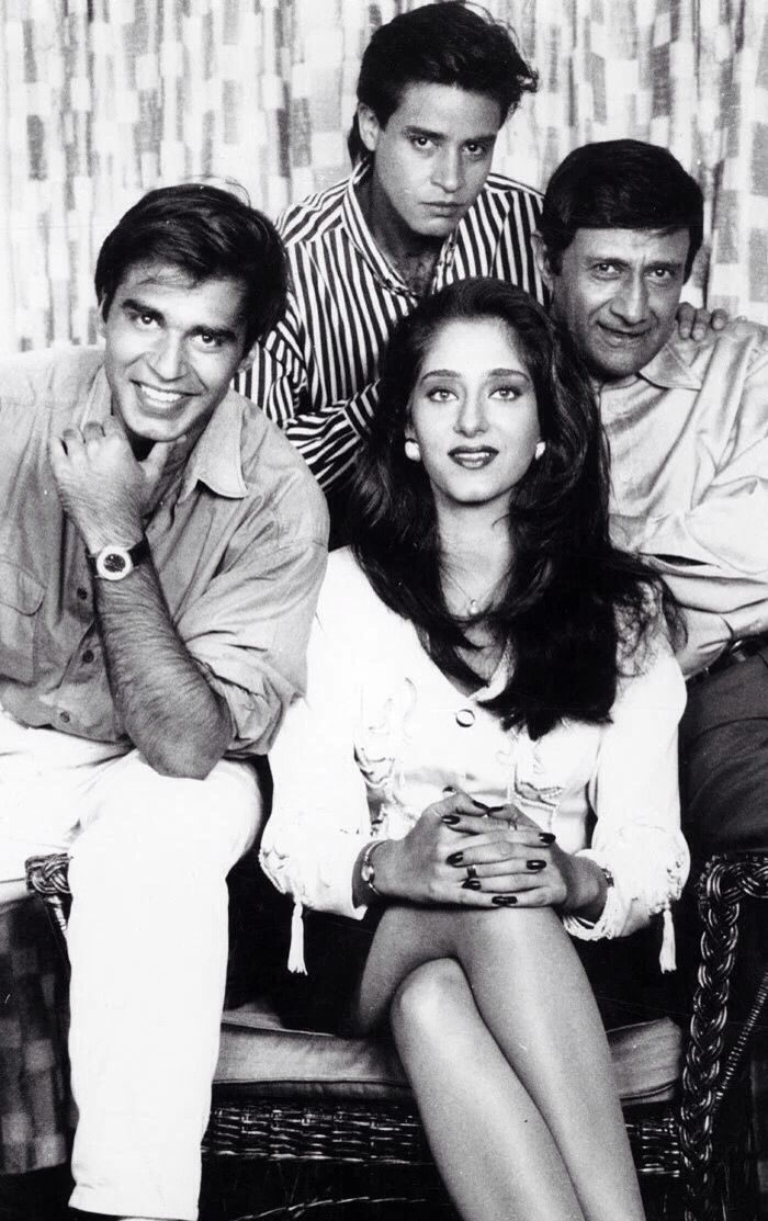 Dev Anand and Son