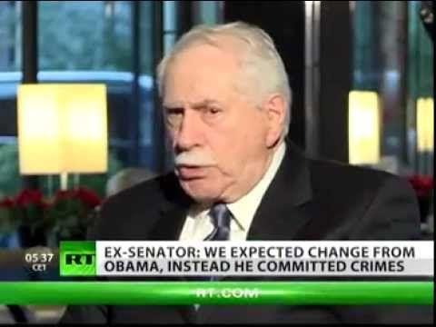 Ex US Senator ((( EXPOSES ))) US corruption , greed and fascist intent
