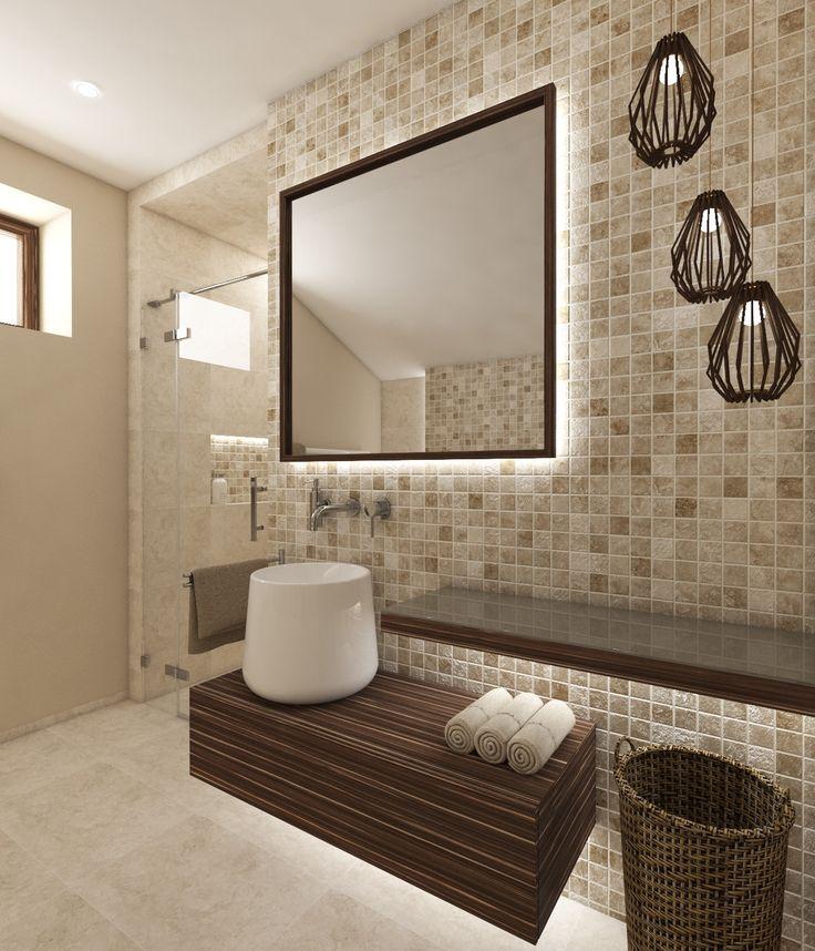 Architect Katka Petkovšek for Perfecto design: Natural bathroom ONTARIO