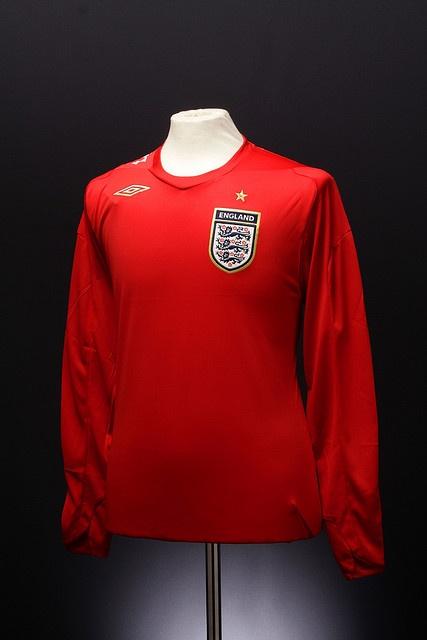 England Football Shirt (Away, 2006-2008)