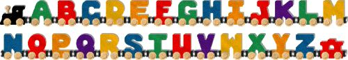 At Alphabet-trains.com you can buy Alphabet Letter, Wooden & Personalized Name Trains at best price. The Alphabet wooden trains are made of maple right in USA. They are tested here & pass from all current safety protocols & regulations.