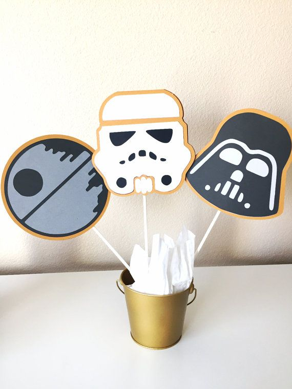 Star Wars Centerpieces Star Wars theme by pinkskyshop on Etsy